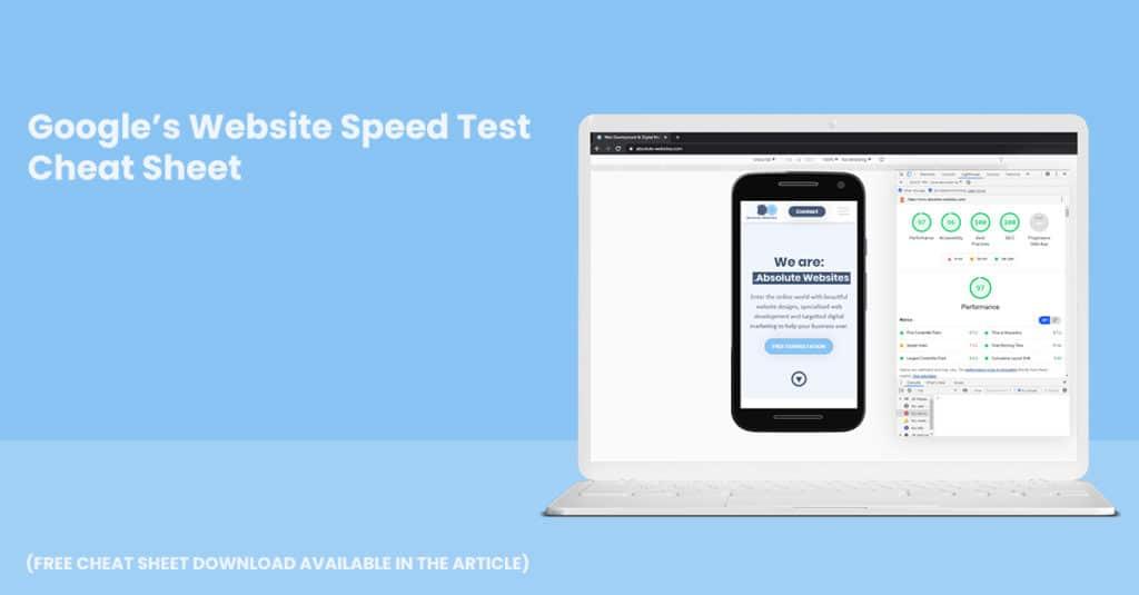 Google's Website Test - Cheat Sheet