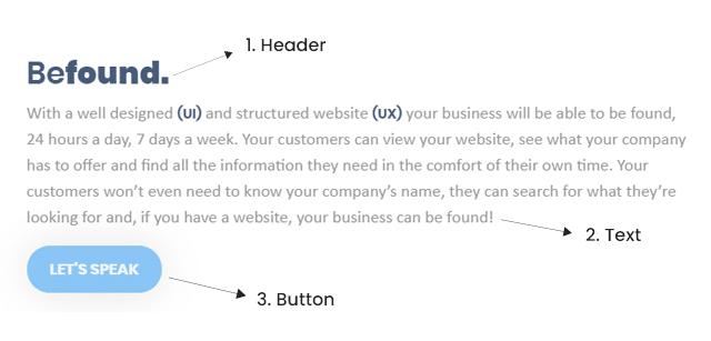 Button hierarchy design