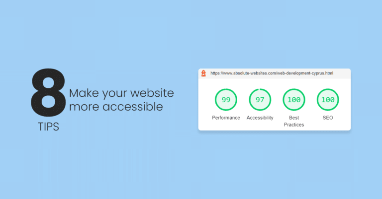 8 Tips for Website Accessibility