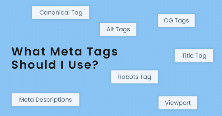 what-meta-tags-should-I-use